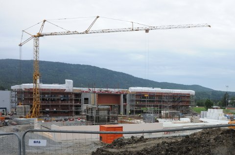 NYSTILLINGINYSKOLE:Nye Nittedal ungdomsskole skal stå klar for innflytting høsten 2020, da med egen miljøarbeider.