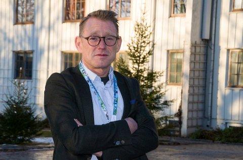 KLAR: Erling Kristiansen er glad for å være i gang som ny rådmann i Jevnaker kommune.