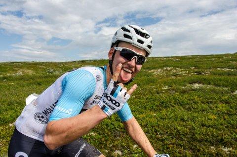 FRA MARATON-NM: NM i terrengsykling ga Olav Hjemsæter hans beste NM-plassering i år, en 10. plass.