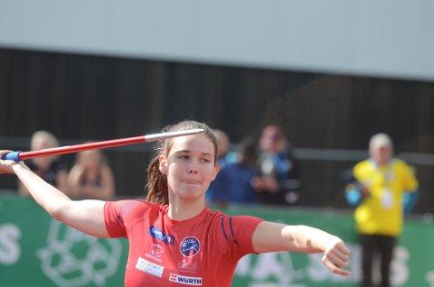 GULL SOM GLEDET: Sonja Fearnley tok sitt første UM-gull da hun vant på Jessheim.