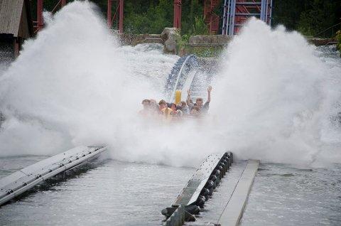Ulykke: Sommeren 2015 ble en 18 år gammel ansatt på Tusenfryd alvorlig skadet i en ulykke ved attraksjonen Supersplash.