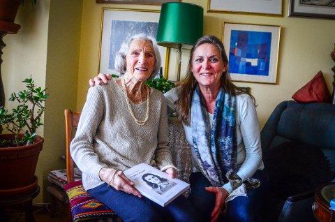 FORTELLER SIN HISTORIE: Friederike von Zuffelle Vevstad sin historie fra andre verdenskrig har blittt til en bok. Det er forfatter Marianne Tinnå som har brukt pennen til å fortelle Friederike sin historie.