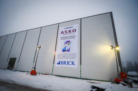 KLAR TIL DYST: Kjølelageret til ASKO i Vestby.