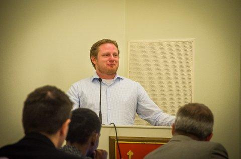 VIL HA PARKERINGSPLASSER: Fremskrittspartiets Kenneth Lien Steen.