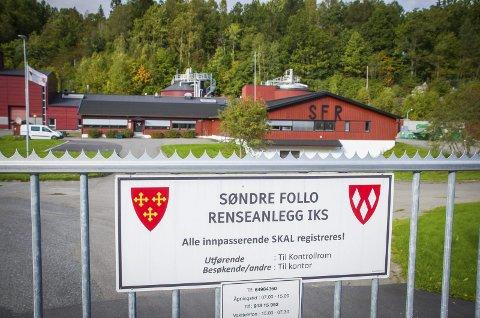 LUKTER: Plan- og miljøutvalget ønsker en analyse av lukt fra Søndre Follo Renseanlegg.
