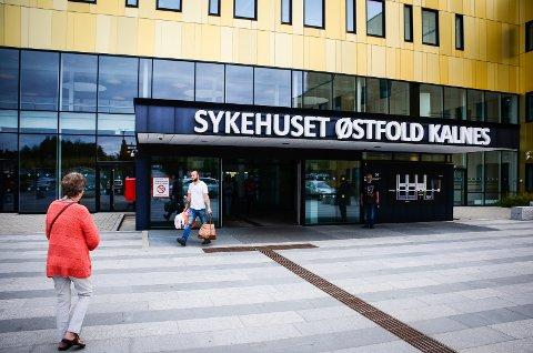 MÅ VENTE: Det nye sykehuset på Kalnes åpnet i november 2015. Fire år senere viser oversikten fra helsenorge.no at pasienter må vente lenge på enkelte typer behandling her.