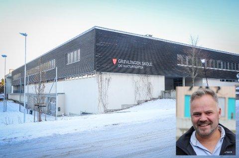 SØKER NY JOBB: Sju har søkt jobben som rektor ved Grevlingen skole og kultursenter. En av dem er Rolf Bjørlo (innfelt), som i dag er rektor ved Hølen skole.