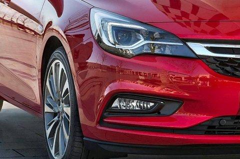VIKTIG MODELL: Nye Opel Astra vil bli en viktig modell for merket i Norge.
