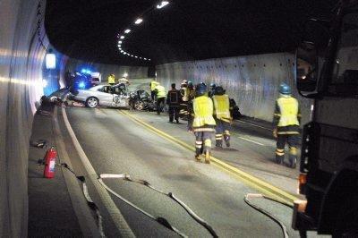 I 2005 brant det i Oslofjordtunnelen som følge av en voldsom kollisjon, med påfølgende bensinbrann like etterpå. En person omkom i ulykken.