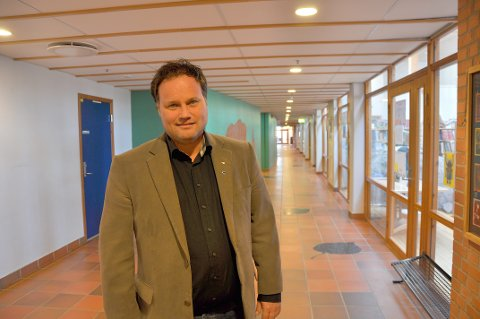SKIFTER BEITE: Rektor Trond Kristensen ved Dyrløkkeåsen skole skifter beite etter ni år i sjefsstolen.