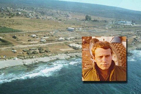 Får medalje: Magne Ege Dahl var blant de første som hadde tjeneste i Libanon. På bildet ser vi leiren i Naqoura der Ege Dahl opplevde noen dramatiske døgn.