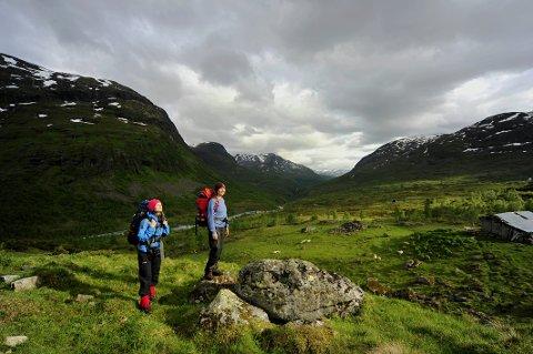 Drømmer du om å oppleve et tureventyr sammen med Lars Monsen, har du sjansen i sommer. Dette bilde er fra sommeråpning på Skogadalsbøen i juni 2013
