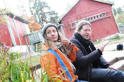 Nina Ossavy og Marius Kolbenstvedt i Concerned Artists Norway har fått støtte fra Kulturrådet til en nattfestival på Nesodden i 2020.