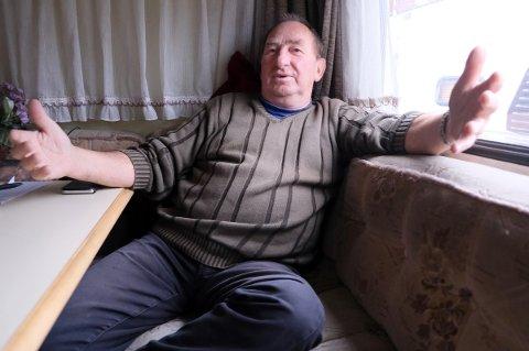 NEKTER Å BETALE: Bjørnar Voll synes det er tøvete å straffe ham med 20.000 kroner i bot fordi han var i karantene i campingvogn og ikke på hotell.
