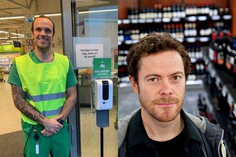 Både butikksjef Øyvind Sæle Larsen fra Kiwi og pressesjef Jens Nordahl forventer at salget går opp i påsken.