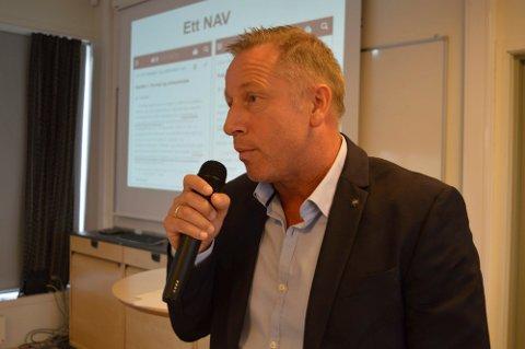 Steinar Hansen, regionsdirektør i NAV, er spent på ansettelsesprosessen rundt ny leder av NAV Nesodden, en jobb han skal gjøre sammen med kommunalsjef Anita Nilsen.