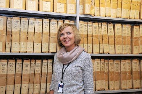 Riksarkivar: Arkivverket ved riksvarkivar Inga Bolstad redegjorde i mai for konsekvensene av justert arkivløsning.