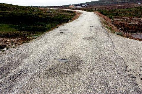 Veien til Olavsgruva på Røros