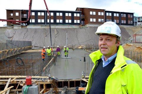 Daglig leder i Johan Kjellmark AS, Trond Ole Schjølberg.