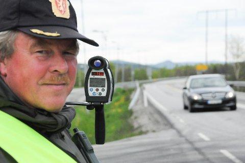 HØY FART: UP har varslet jevnlige kontroller på riksveg 3 gjennom Østerdalen i sommer.