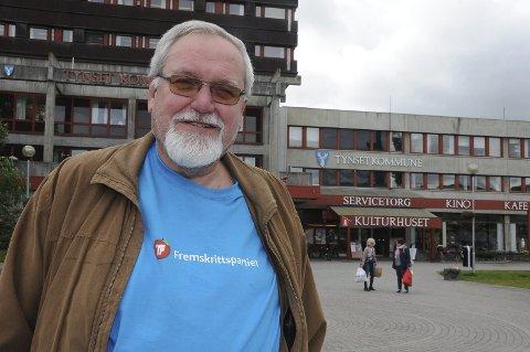 LOKALLAGSLEDER: Arne Georg Aunøien leder Tynset Frp.