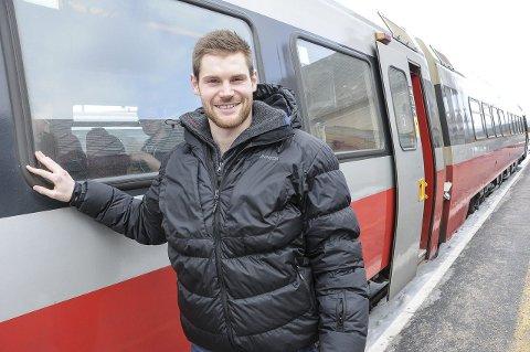 OFFENTLIG DRIFT: Nils Kristen Sandtrøen er klar på at distriktet vårt er best tjent med at Rørosbanen drives i offentlig regi.