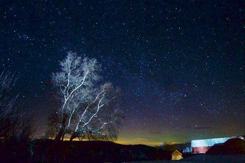 Fenomen: Mange har blitt tiltrukket av de spesielle lysforholdene i Hessdalen.