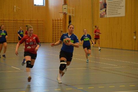 Maren Magret Søtvik Høistad i full rush for Ålen.