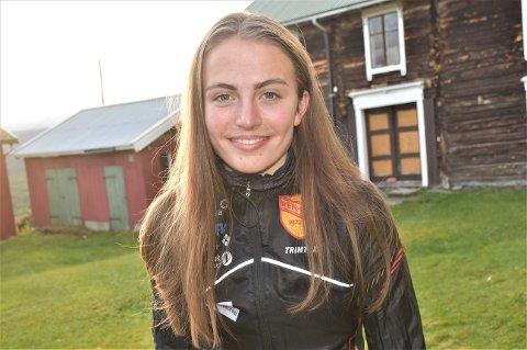 SLÅTT GJENNOM: 17-åringen Ingeborg Østgårds prestasjoner med løpesko på beina har fått landslagsledelsen til å hente henne inn på juniorlandslaget foran neste sesong.