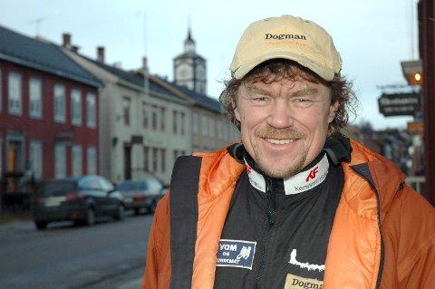 Lars Monsen på Røros.