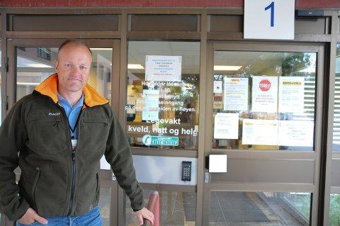 FLYTTER TILBAKE: 1. september er legevakta tilbake i lokalene på Tynset sjukehus, sier helse- og omsorgssjef Øystein Kyrre Johansen.