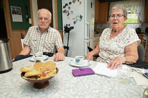 Gunnar (89) og Marit Kleven (81) i Fåvang.
