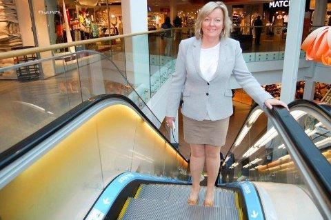 Laila Sønstevold, Center Manager på Vinterbro senter.