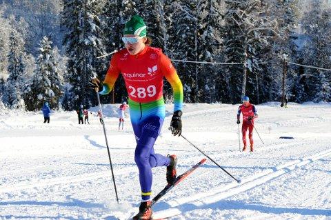 NY ARENA: Axel Holth Siegel går fra å være hardtsatsende langrennsløper til å bli grensevakt på den norsk-russiske grensen i Finnmark.