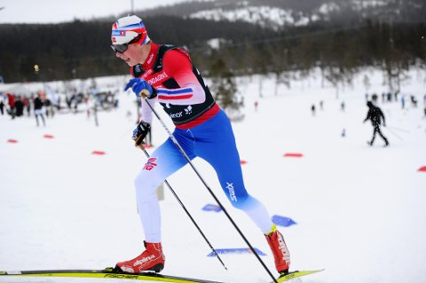 TOPP FEM: Vegard Aarstad gikk inn til femteplass i vinterens første skirenn. Han ofret jula i Ås for å få trent mest mulig på Sjusjøen og Lillehammer.