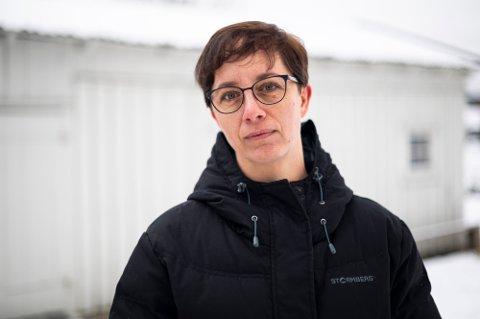 SMITTEUTBRUDD: Kommuneoverlege Bettina Fossberg bekrefter fredag morgen at det er et utbrudd av den britiske mutasjonen i Lillestrøm kommune.