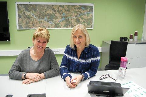 VIL SAMARBEIDE: FDelprosjektleder Mary-Ann Breisnes (til venstre) og prosjektleder Anne-Grethe Nordahl i Statens vegvesen