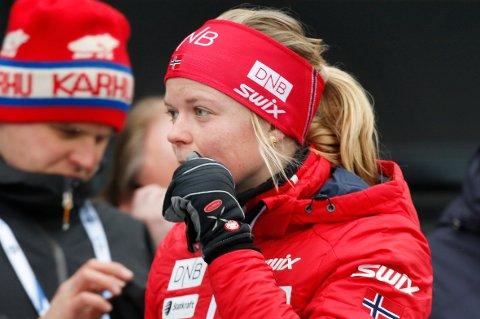 NUMMER 21: Kaia Wøien Nicolaisen var svært solid på jaktstarten i VM.