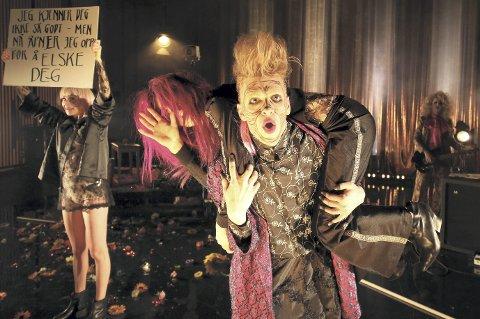 Politisk teater: Den hellige Johanna fra slakterhusene tar opp kampen mot grådighet og urettferdighet. Foto: Arild MoenFoto: Arild Moen