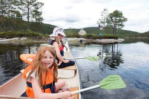 Mange norske barn ønsker å være mer ute i naturen. Foto: Gorm Kallestad, NTB scanpix/ANB