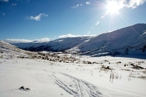 Vinteridyll i Grødalen.