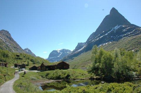 NASJONALPARK?: Del av Innerdalen skal sammen med Trollheimen landskapsvernområde vurderes endret til nasjonalpark.