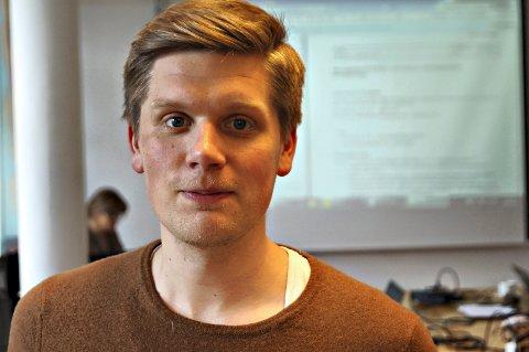 Lars Fjærli Hjetland: Bryter tausheten. (Arkiv)