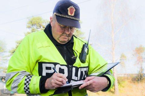 BETENKT: Birger Lassesen i UP er betenkt både på at man stopper to for promille på så kort tid, og for at folk varsler om kontrollene UP holder.