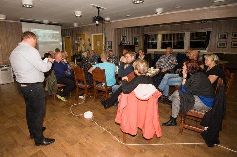 Kjell Trygve Grunnsvoll kunne informere sine egne i Senterpartiet om at de ikke mistet noen representanter i kommunestyret.