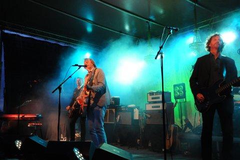 KOMMER TILBAKE: deLillos holdt konsert i Risør i både 2010 og 2013. Første helgen i august er Oslo-bandet tilbake i byen. Her fra Holmen i 2013.