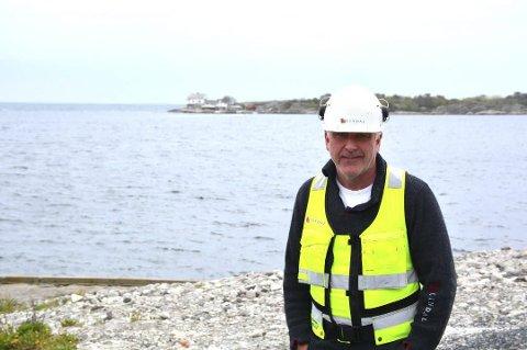 Carry on: På grunn av problemer med logistikken får utbyggeren i Flisvika holde på med full byggeaktivitet også i sommer.Foto: arkiv