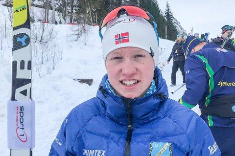 GULLGUTT: Halvor Sørbø gjorde som i fjor og vant den klassiske sprinten i KM, denne gang i Slettedalen i Sauda.