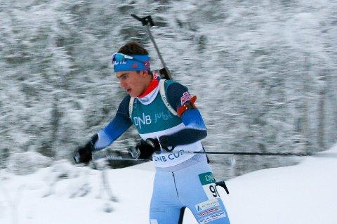 NUMMER FIRE: Ånon Flåta kom på fjerdeplass på lørdagens sprint i norgescupen.