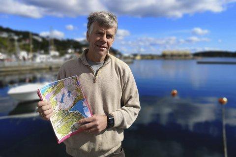 NYTT FELT: Mads Henrik Sandnes vil lage nytt, stort hytte- og boligfelt på Sandes.